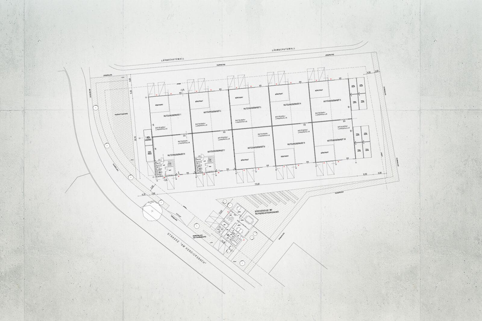 werkPark Aufsicht Skizze